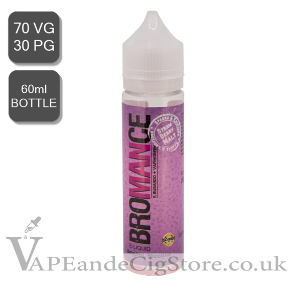 Strawberry Malt By Bromance (60ml Bottle)