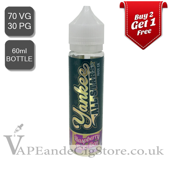 Raspberry BonBon by Yankee All Stars (60ml Bottle)