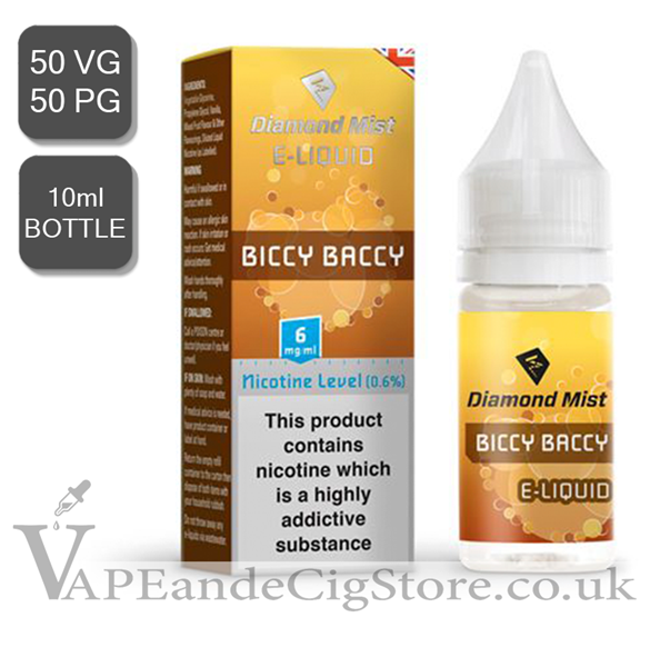 Biccy baccy Diamond Mist 10ml E Juice