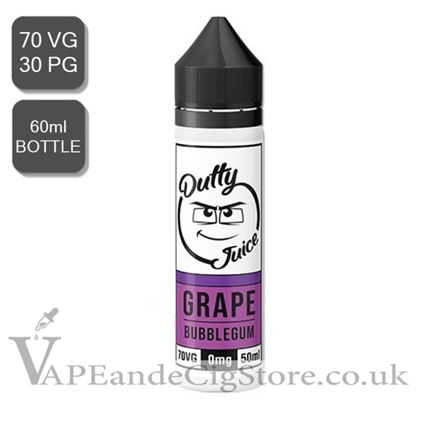 Grape Bubblegum by Dutty Juice (60ml Bottle)