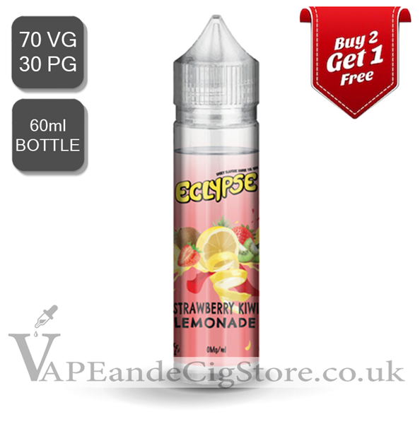 Strawberry Kiwi Lemonade by Eclypse E Liquids (60ml Bottle)