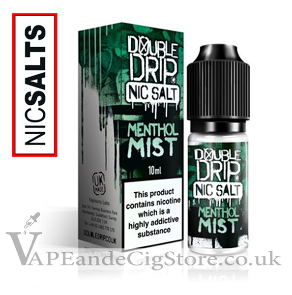 Menthol Nic Salt by Double Drip