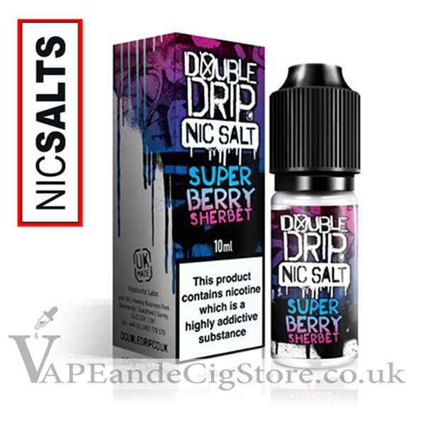 Super Berry Sherbet Nic Salt by Double Drip