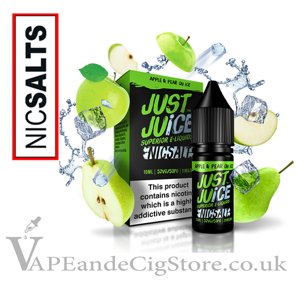 Apple & Pear Ice Nic Salt by Just Juice